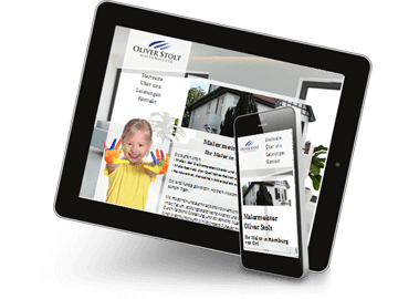 Website Maler Hamburg - Mobiloptimiert