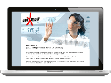 Webdesign - Medizinprodukte Hamburg