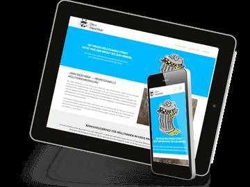 Website mobile Mülltonnenreinigung