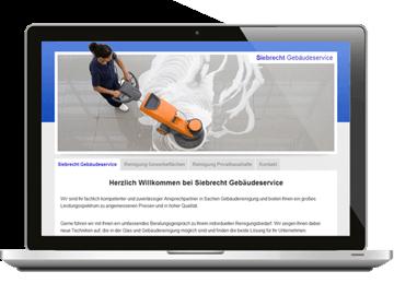Homepage Reinigungsfirma Hamburg