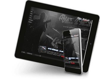 Responsive Webdesign - Rockband Hamburg