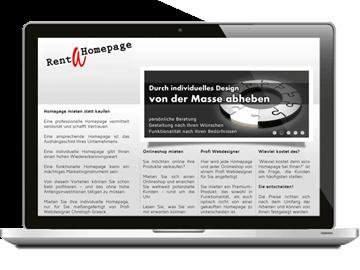 Website - Homepagebaukasten Hamburg