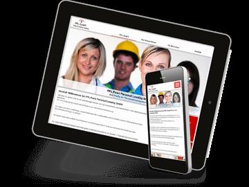 Webdesign Zeitarbeit Dienstleister
