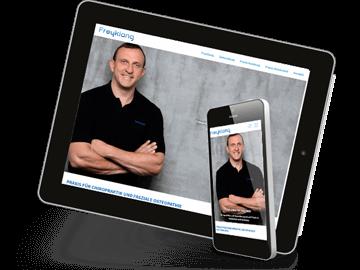 Mobil optimierte Website Chiropraktiker Freyklang