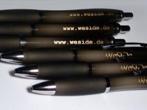 Werbetechnik - Kugelschreiber mit Werbedruck