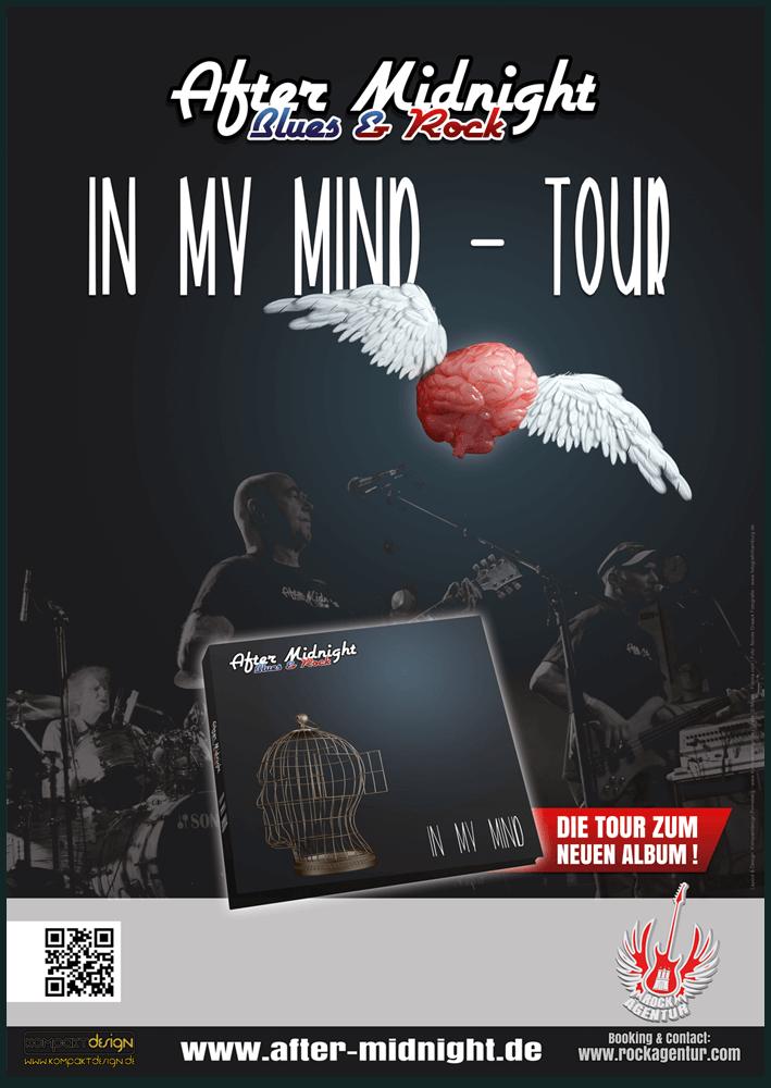 Plakat In My Mind Tour Hamburg