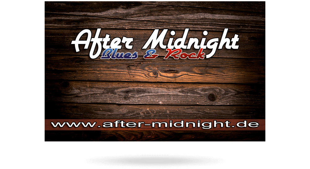 Printmedien - Visitenkarte Rockband After Midnight