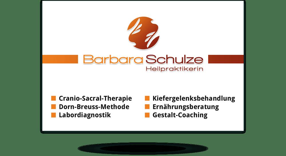 Visitenkarten Und Drucksachen Für Heilpraktiker Therapeuten