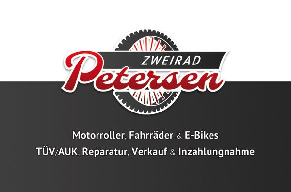 Mechaniker-Visitenkarte im Retro-Stil