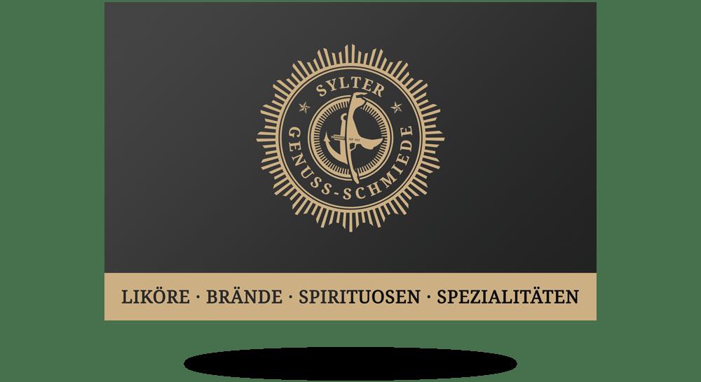 Visitenkarten In Schwarz Anthrazit Mit Edler Gold Beschriftung