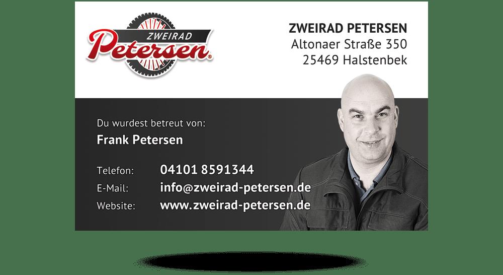 Personalisierte Visitenkarte - KFZ