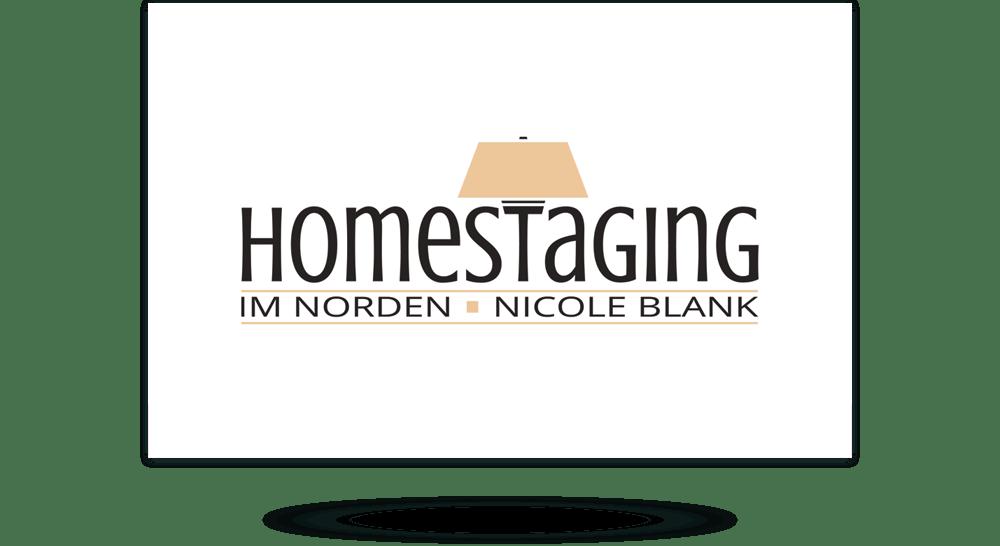 Visitenkarten-Erstellung Home Staging - Vorderseite