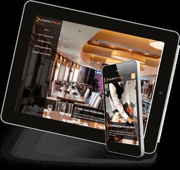 Die Homepage für Restaurant und Hotel