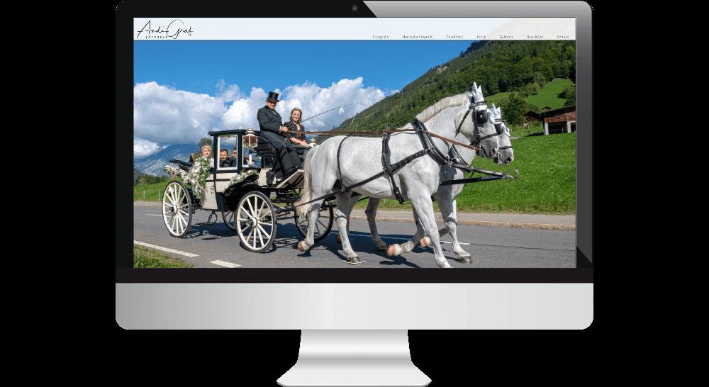 Fotograf-Website - Responsive Webdesign