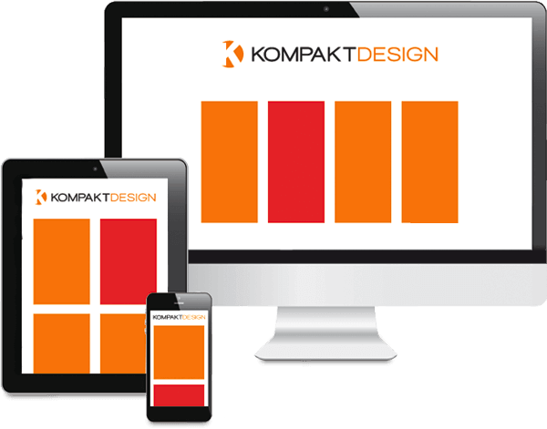 Ansicht Responsive  Webdesign