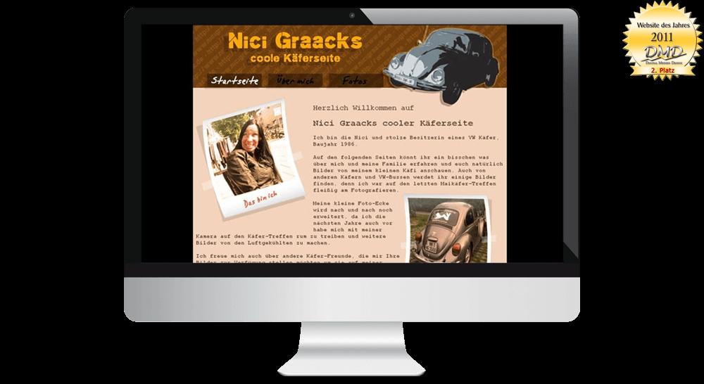 Private Homepage - Website des Jahres