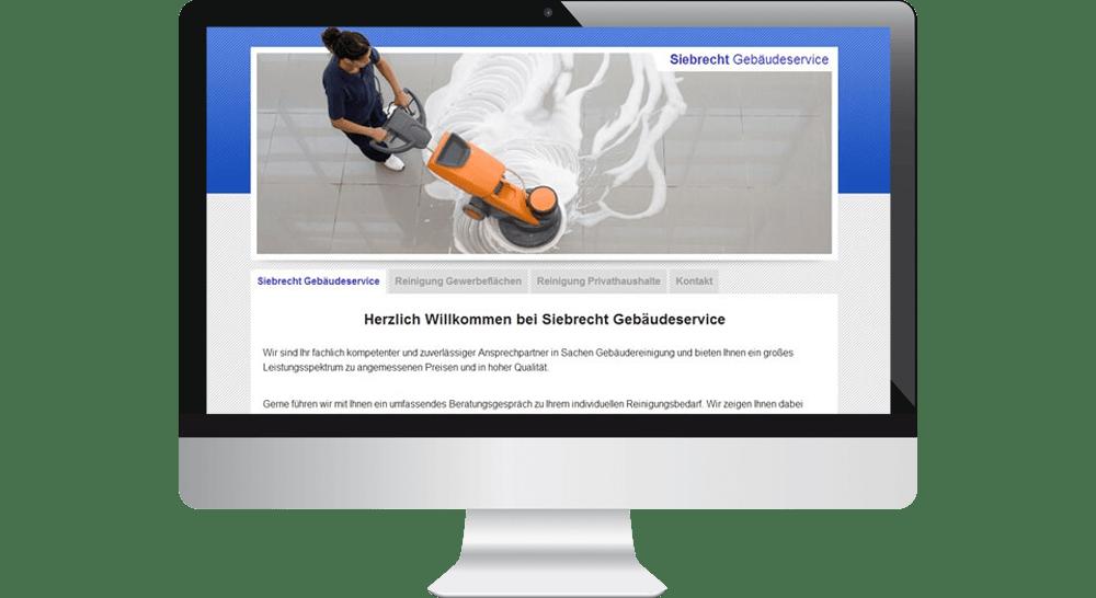 Webdesign Reinigungsfirma Hamburg