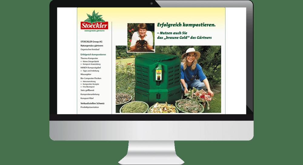 Website mit Tipps zum erfolgreichen Kompostieren