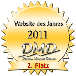 Beste private Homepage 2011 - 2.Platz