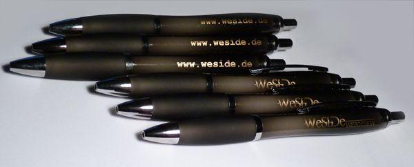 Give-Aways - Kugelschreiber mit Logo und Internetadresse